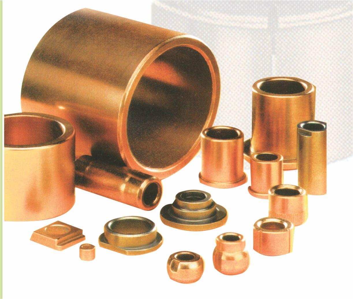 buchas autolubrificantes bronze